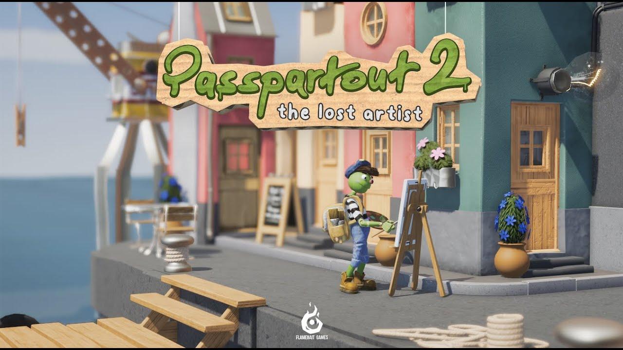 Passapartout 2: The Lost Artist announcement trailer