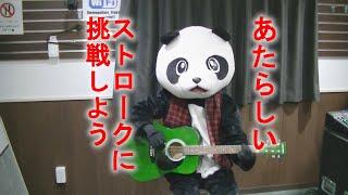 【フェイフェイのパンダでもわかるギター講座】ギターストローク