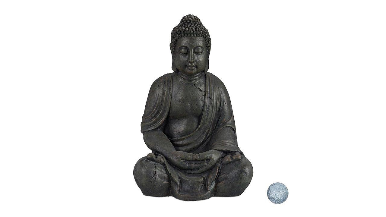 Video von: Buddha Figur Keramik 70 cm