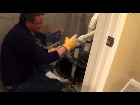 How to Install a Sump Pump with Radon Mitigation System