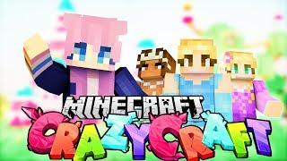 Disney Princess Challenge | Minecraft Crazy Craft VS.
