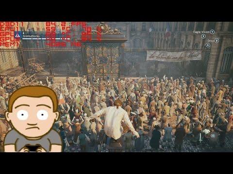 Assassins Creed Unity Walkthrough - Title Screen Crash