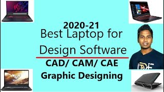 Best Laptop for CAD Designing 2020 || SOLIDWORKS, CATIA, Creo, NX, Graphics | HP, Acer, Dell, Asus