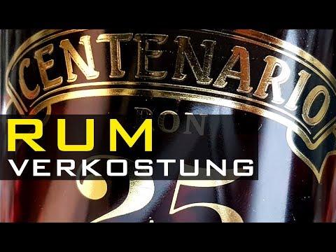 Rum Tasting - RON CENTENARIO 25 GRAN RESERVA - Rum Verkostung / Rum Review