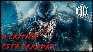 A crítica estava certa sobre Venom?