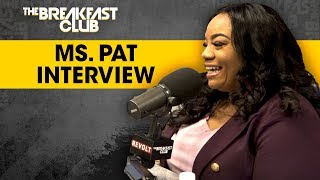 The Breakfast Club - Comedian Ms. Pat Shares Her Life Story, Selling Crack, Getting Shot & More