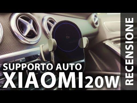 Pazzesco! Supporto smartphone per auto XIAOMI con ricarica Wireless da 20W!