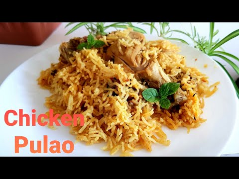 Chicken Pulao Recipe | One Pot Cooking Recipe