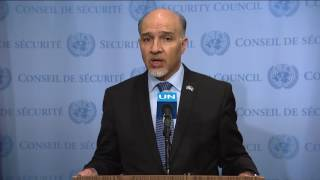 Mahmoud Saikal (Afghanistan) on the situation in Afghanistan- SC Media Stakeout (21 June 2017)