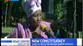 Kwale leaders petition IEBC to form a new constituency based 2019 on census results