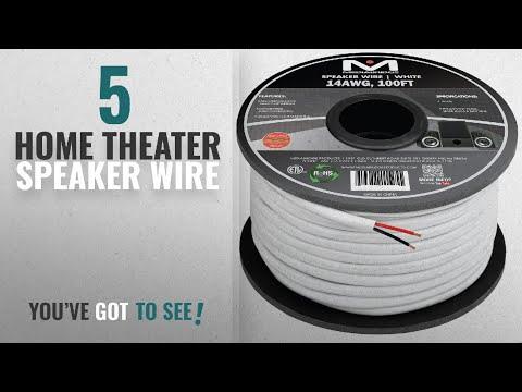 Top 5 Home Theater Speaker Wire [2018]: Mediabridge 14AWG 2-Conductor Speaker Wire (100 Feet,