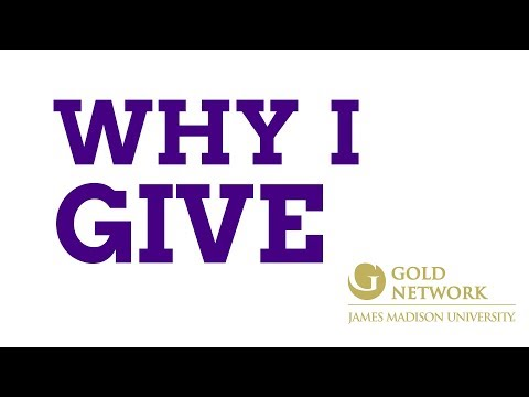 GOLD Network: Why I Give