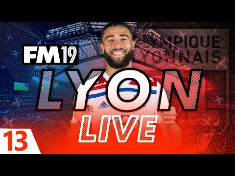 Football Manager 2019 | Lyon Live #13: Short of Strikers #FM19