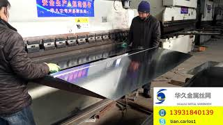 How to Bend Galvanized Steel Sheets by Machine (3)
