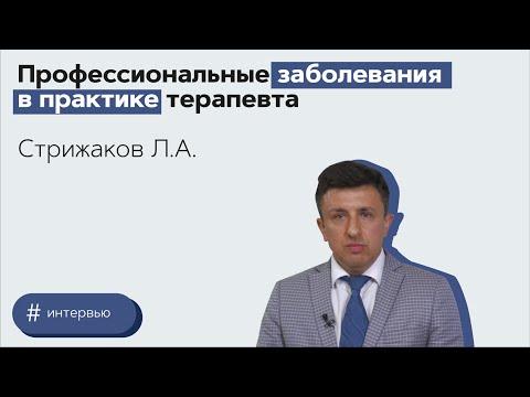 Профессиональные заболевания в практике терапевта. Стрижаков Леонид Александрович