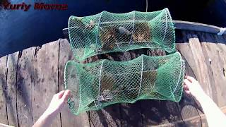 Летняя рыбалка на рака