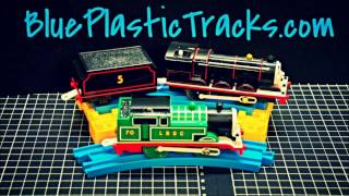 Surprise Plarail LBSC Thomas and Black James reaction and review of Super mystery gift!!