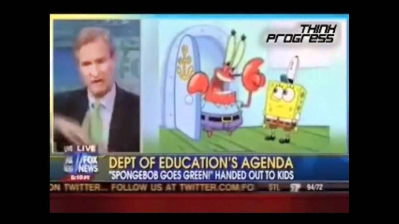 SpongeBob Global Warming Agenda! (Fox News) thumbnail