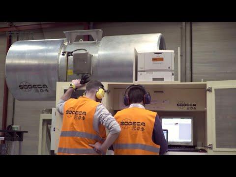 SODECA. JET FAN Factory Acceptance Test