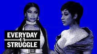 Everyday Struggle - Cardi B & Nicki Minaj Shade at VMAs, Young Dolph Turns Down $22M