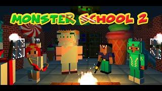 Zombie Monster school 2: Noob vs Hacker (Game on Google Play)