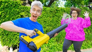 WE STOLE the MYSTERY NEIGHBOR WIG!! (Ellen's True Identity Revealed)