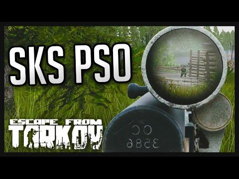 Escape From Tarkov - SKS PSO Snipes - xKILLACOREYx - Video - Free