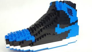 Lego Air Jordan Shoe Speed Build Stop Motion