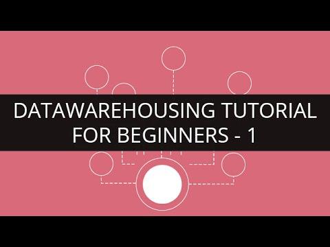 Data Warehousing Tutorial for Beginners - 1 | Edureka - YouTube