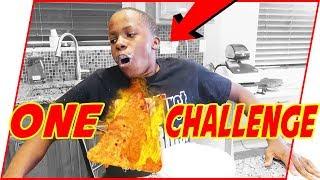 Weird Black Kid Does The #OneChipChallenge
