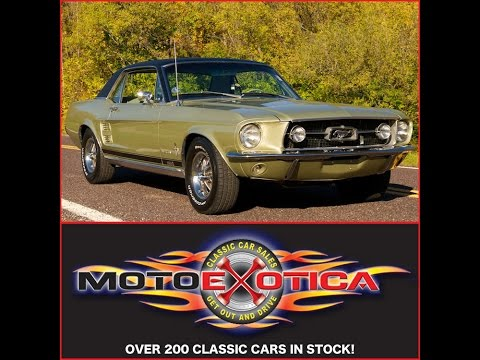 1967 Ford Mustang GTA (SOLD)