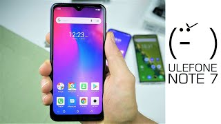 (╯°□°)╯ Ulefone Note 7 Kurztest - Ultra Low Budget Android 9 GO China Phone für 55€  - Moschuss.de