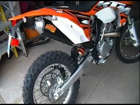 2013 KTM 350 EXC-F FMF Exhaust Sound