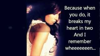 Kristina Maria - Our Song Comes On [w/ lyrics] HQ