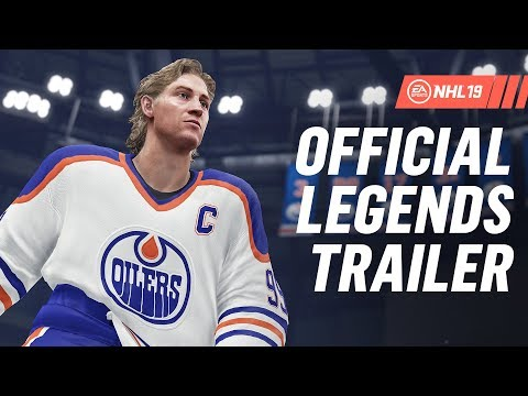 NHL 19 | Hockey Legends ft. Gretzky, Lemieux, Messier, Selanne, Forsberg, Beliveau thumbnail