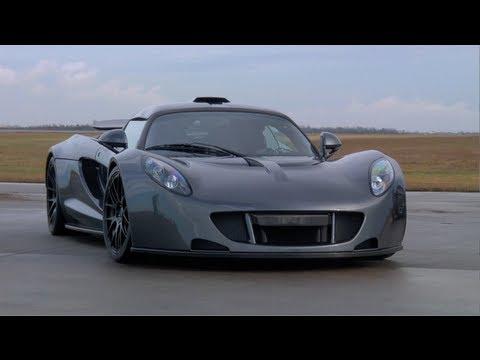 Hennessey Venom GT World Record Run
