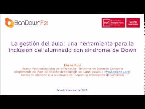 Ver vídeoLa gestión de aula: una herramienta para la inclusión del alumnado con síndrome de Down