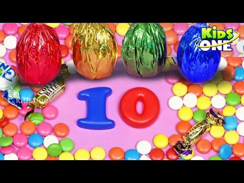 Surprise Eggs | Learn Numbers | Opening Magic Surprise Eggs for Kids