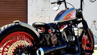 Ultimate Bobber Build Timelapse 2 - Harley FatBoy