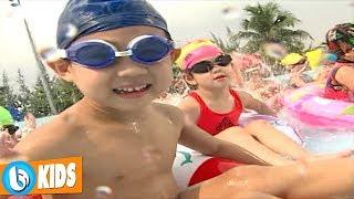 Bé Tập Bơi - Quốc Tuấn   Nhạc Vui Nhộn Cho Bé [MV]