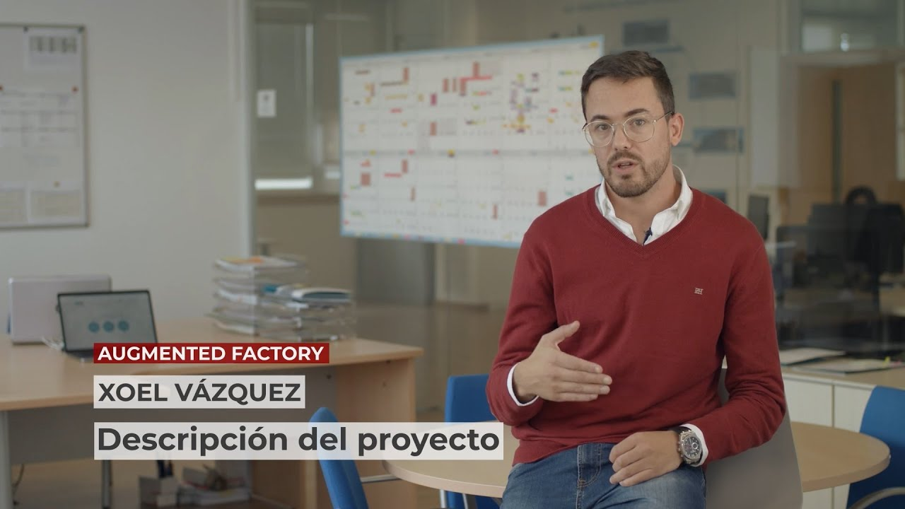 1 Innovative project in 1 minute: Augmented Factory