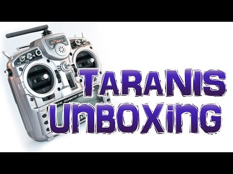 rádio-frsky-taranis-x9d-plus-unboxing-vídeo-01