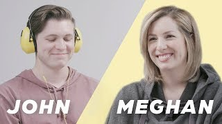 Couple Secretly Shares Both Sides of Their Love Story (Meghan & John)