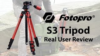 Fotopro S3 Tripod | Real User Review