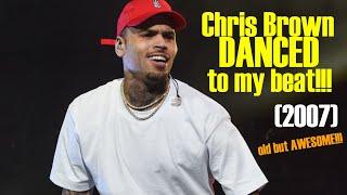 Chris Brown dances to Heem Instrumental (2007)