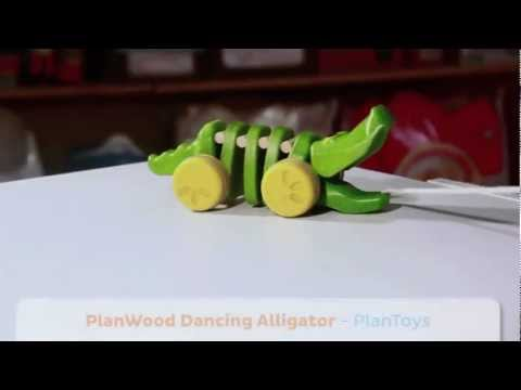 Plantoys Planwood Dancing Alligator - Best Kids Toys for Holiday 2012 at Magic Beans