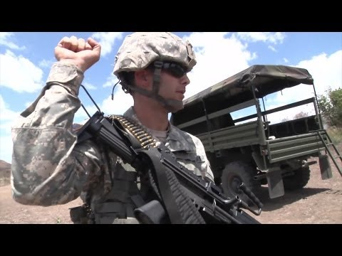 Puerto Rico Army National Guard in Warrior Leader Course - YouTube