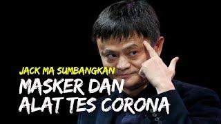 Jack Ma Sumbangkan Masker dan Peralatan Tes Corona ke Afrika