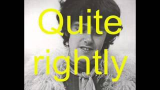 Mellow Yellow Single Version] By Donovan With Lyrics