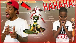The Most DISRESPECTFUL Play In Madden 19! DOUBLE HURDLE! - MUT Wars Ep.68